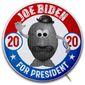 Biden Campaign Button Illustration by Greg Groesch/The Washington Times
