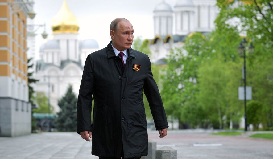 Putin To Ease Lockdown Restrictions Despite Surge In New Coronavirus Cases Washington Times