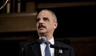Former Attorney General Eric H. Holder Jr. is shown in this undated file photo. (Associated Press)