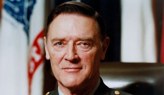 Gen. Frederick J. Kroesen died Apr. 30 at his home in Alexandria, Virginia. He was 97. (Courtesy of U.S. Army Europe)