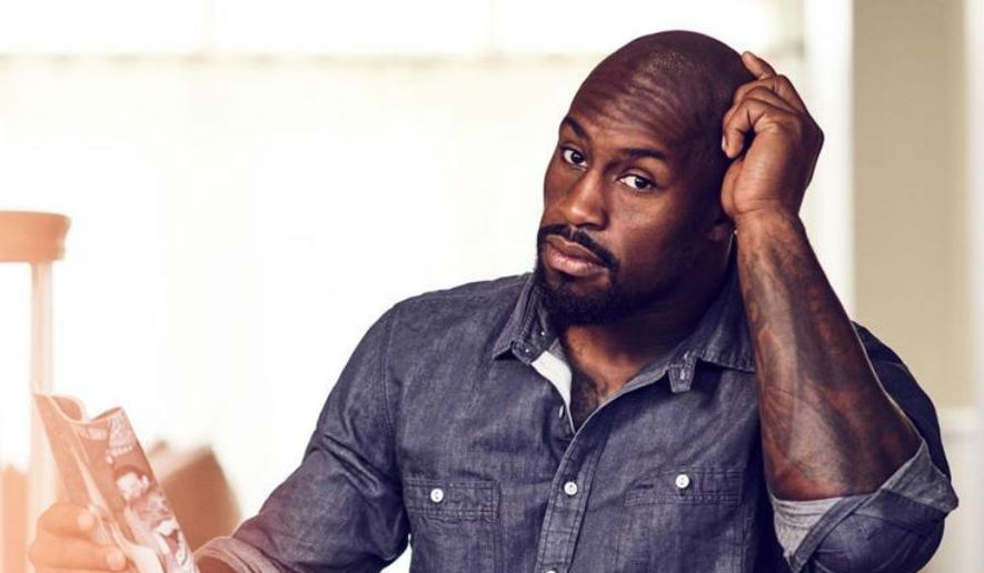 Former Washington Redskins tight end Vernon Davis is pursuing a variety of interests after retiring from the NFL, from acting to running a home health care group in Virginia. (Courtesy photo by William Hereford)