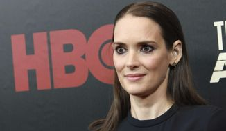 """Winona Ryder attends the premiere of HBO's """"The Plot Against America"""" at Florence Gould Hall on Wednesday, March 4, 2020, in New York. (Photo by Jason Mendez/Invision/AP)"""
