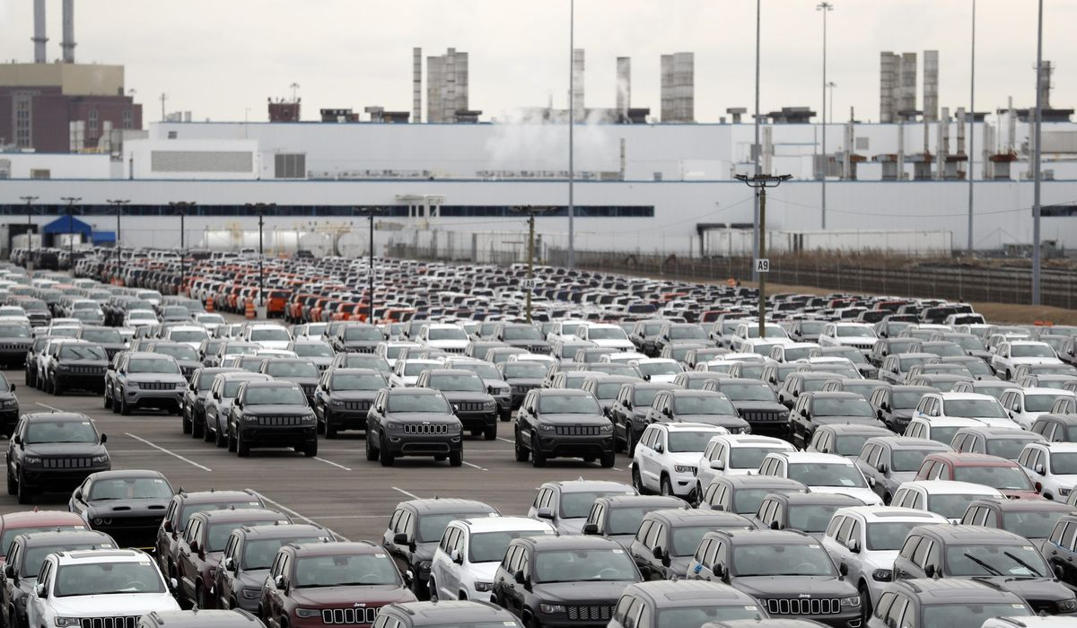 Auto workers` tenuous return a ray of hope...