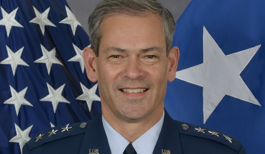 Lt. Gen. Kenneth S. Wilsbach, U.S. Air Force. Photo via U.S. Air Force (https://www.af.mil/About-Us/Biographies/Display/Article/108478/lieutenant-general-kenneth-s-wilsbach/)