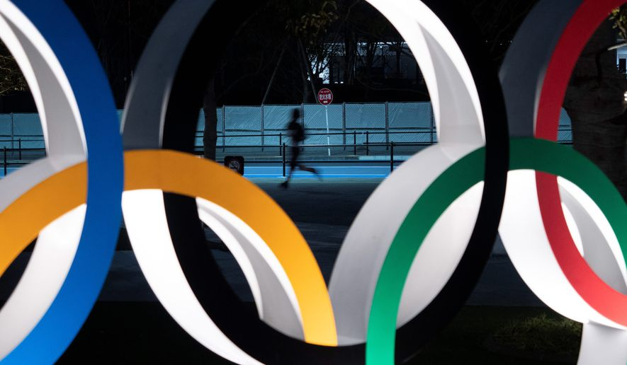 Tokyo Olympics officials have floated cost-cutting ideas for the 2021 Games, but no specific targets. (ASSOCIATED PRESS)