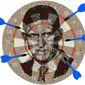 Targeting Flynn Illustration by Greg Groesch/The Washington Times