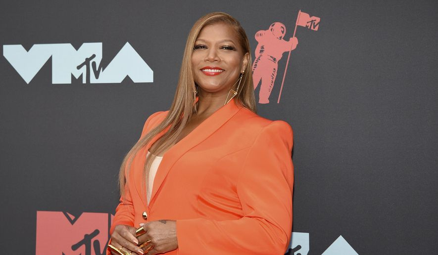 In this Aug. 26, 2019, file photo, Queen Latifah arrives at the MTV Video Music Awards in Newark, N.J. (Photo by Evan Agostini/Invision/AP, File)