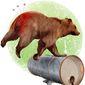 Beaten Bear Illustration by Greg Groesch/The Washington Times