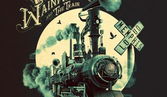"""This cover image released by Ruf shows """"Memphis Loud"""" by Victor Wainwright and The Train. (Ruf via AP)"""