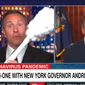 CNN's Chris Cuomo laughs it up with brother Andrew, the governor of New York, during a conversation on the coronavirus pandemic, May 20, 2020. (Image: CNN screenshot)