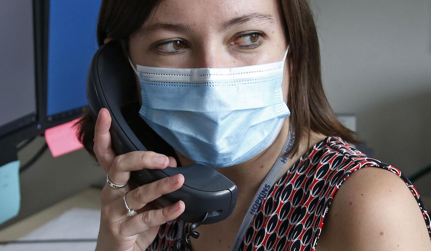 Detective, nurse, confidant: Virus tracers play many roles thumbnail