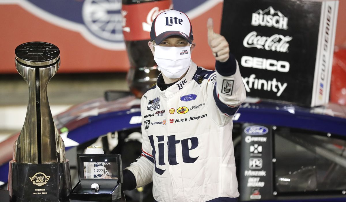 NASCAR drivers making the most of time in spotlight