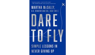 Dare to Fly  by Martha McSally (book cover)