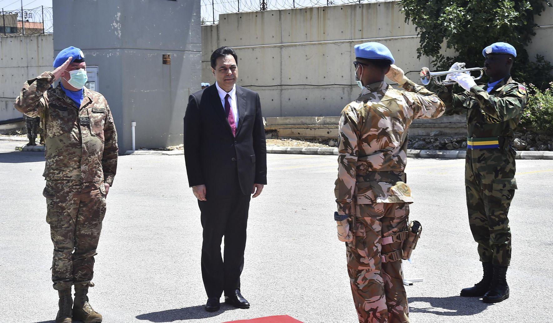 Image of article 'Lebanon extends mandate of UN force along Israel border'