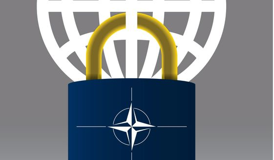 Transitioning NATO into a European-led force illustration by The Washington Times