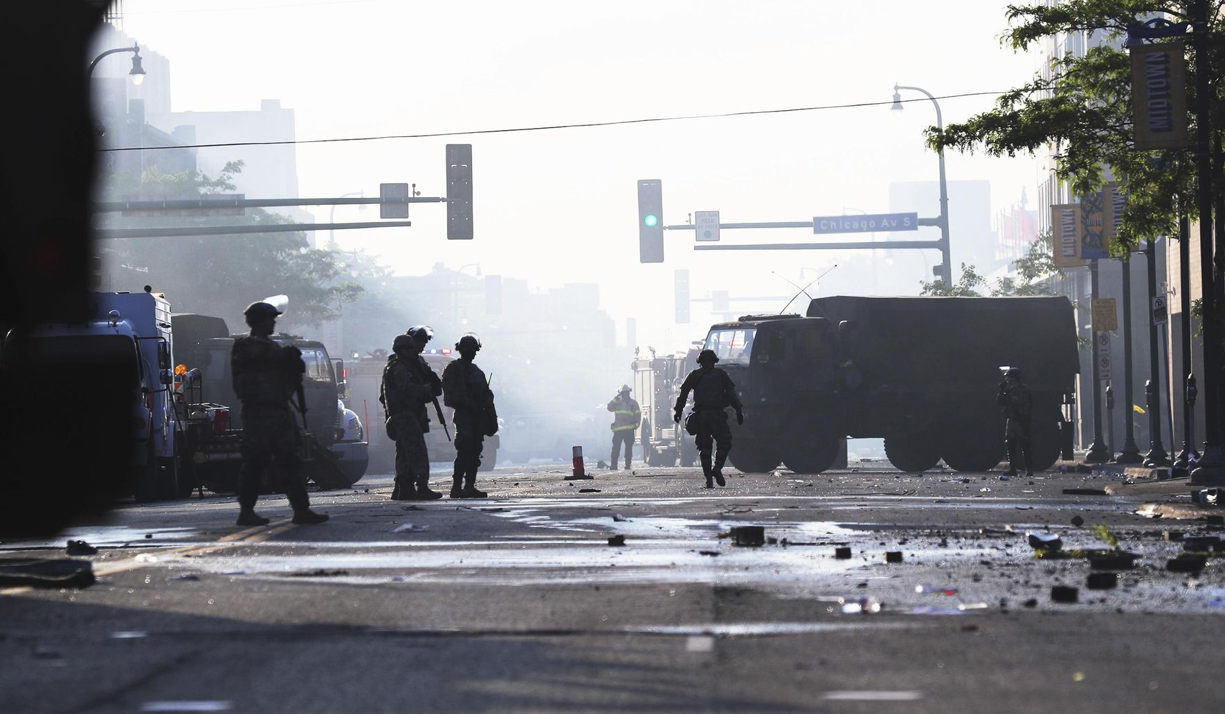 Image of article 'The Latest: One dead in Indianapolis shootings amid protests'