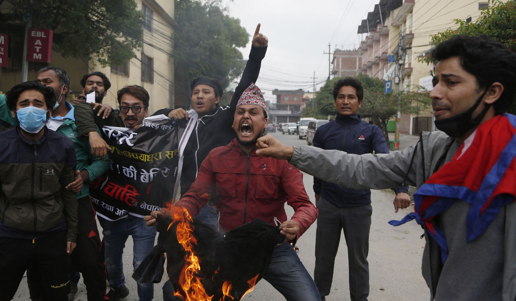 Image of article 'Nepal's parties show rare unity on border dispute with India'