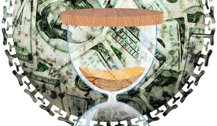 Runaway Spending Illustration by Greg Groesch/The Washington Times
