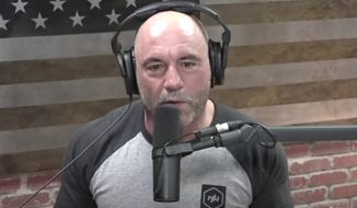 Podcast host Joe Rogan talks about censorship on social media platforms, May 22, 2020. (Image: YouTube, The Joe Rogan Experience, video screenshot)  **FILE**