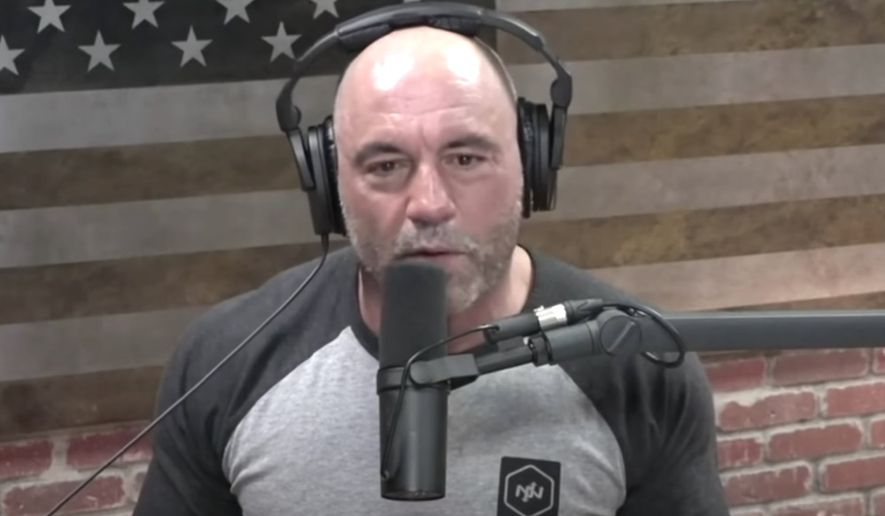 Podcast host Joe Rogan talks about censorship on social media platforms, May 22, 2020. (Image: YouTube, The Joe Rogan Experience, video screenshot)  ** FILE **