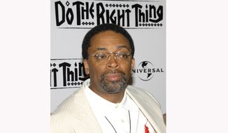 "FILE - In this June 29, 2009 file photo, Spike Lee attends a special 20th anniversary screening of his film ""Do the Right Thing"" in New York. The nationwide unrest following the death of George Floyd has again reminded many of the film. In an interview, he talks about the echoes of his film, what makes this moment different than protests before and his hopes for justice. (AP Photo/Peter Kramer, File)"
