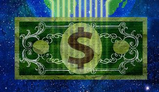 Digital Currency Illustration by Greg Groesch/The Washington Times