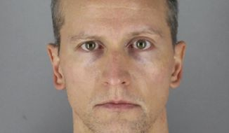 FILE - This May 31, 2020 photo provided by the Hennepin County Sheriff shows former Minneapolis police officer Derek Chauvin, who was arrested Friday, May 29, in the Memorial Day death of George Floyd. Prosecutors are charging Chauvin, accused of pressing his knee against Floyds neck, with second-degree murder, and for the first time will level charges against three other officers at the scene, a newspaper reported Wednesday, June 3, 2020. (Hennepin County Sheriff via AP, File)