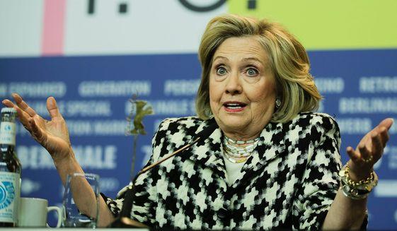 Hillary Clinton (Associated Press)