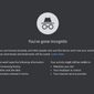 Screen capture of Google Chrome's Incognito disclaimer. The tech giant is the target of a proposed $5 billion class-action lawsuit alleging the company has snooped on the search and browser history of users accessing the private-searching feature.