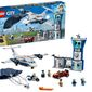 Lego is asking its affiliates to temporarily halt advertising for toy collections depicting the White House and police stations, including the LEGO City Sky Police Air Base pictured here, in the wake of nationwide protests over the police custody death of George Floyd. (screengrab via Amazon)