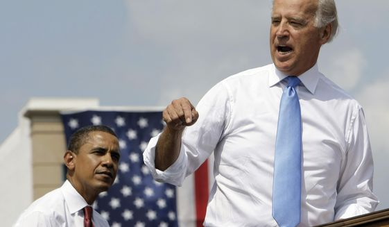 Joe Biden Chats With Barack Obama In New Presidential Campaign Clip Washington Times