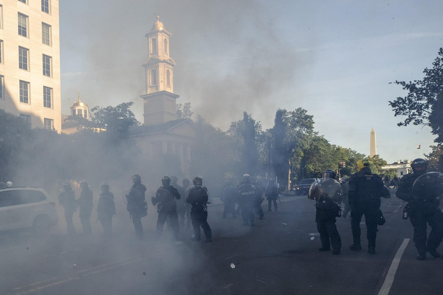 National Guard major says excessive force, tear gas used in June 1 protest near White House