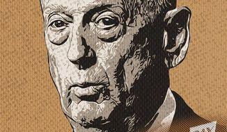 Mattis and Bonus Marchers Illustration by Greg Groesch/The Washington Times