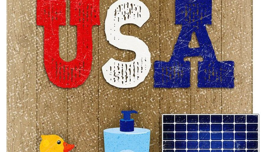 USA-Made Illustration by Greg Groesch/The Washington Times