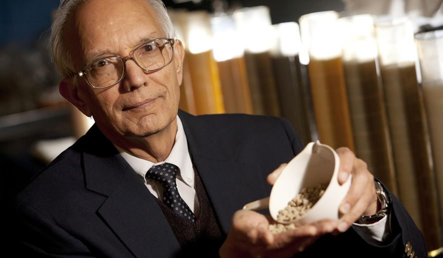 In this undated photo provided by the World Food Prize Foundation, Rattan Lal, a professor of soil science at The Ohio State University poses at the University in Columbus, Ohio. Lai was named the recipient of the 2020 World Food Prize on Thursday, June 11, 2020. He was recognized by the Des Moines, Iowa-based organization for his soil research which has led to improved food production and a better understanding of how atmospheric carbon can be held in the soil improving climate change.(World Food Prize Foundation via AP)