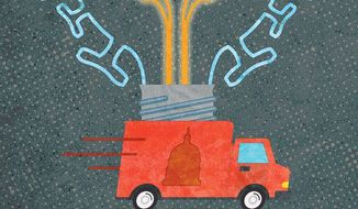 Government Hijack of Intellectual Property Illustration by Greg Groesch/The Washington Times