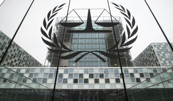 In this Nov. 7, 2019, photo, the International Criminal Court, or ICC, is seen in The Hague. (AP Photo/Peter Dejong) **FILE**