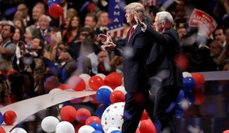 President Trump is expected to accept the nomination for reelection in his adopted home state of Florida with the GOP convention in Jacksonville. (Associated Press photographs)