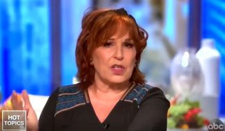 "Joy Behar of ABC's ""The View"" talks about the threat of coronavirus at political rallies for President Trump versus Black Lives Matter protests, June 16, 2020. (Image: ABC, ""The View"" video screenshot)"