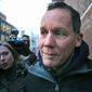 In this Jan. 30, 2020, Harvard University professor Charles Lieber leaves federal court in Boston following his arrest on allegations he hid his involvement in a program designed to recruit people with knowledge of foreign technology and intellectual property to China. Lieber, former chair of the department of chemistry and chemical biology at Harvard, pleaded not guilty via videoconference on Tuesday, June 16, 2020, to lying about his ties to the Chinese-run recruitment program. (AP Photo/Charles Krupa, File) (Associated Press)  **FILE**
