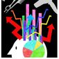 Illustration on managing data by Alexander Hunter/The Washington Times