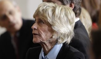 In this Jan. 20, 2011, file photo, Jean Kennedy Smith attends a ceremony marking the 50th anniversary of President John F. Kennedy's inaugural speech on Capitol Hill in Washington. Jean Kennedy Smith, the youngest sister and last surviving sibling of President John F. Kennedy, died at 92, her daughter confirmed to The New York Times, Wednesday, June 17, 2020. (AP Photo/Charles Dharapak)