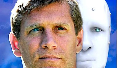 "Transhumanist and futurist Zoltan Istvan is running for president, and tells his campaign story in a documentary titled ""Immortality or Bust."" (Zoltan Istvan)"