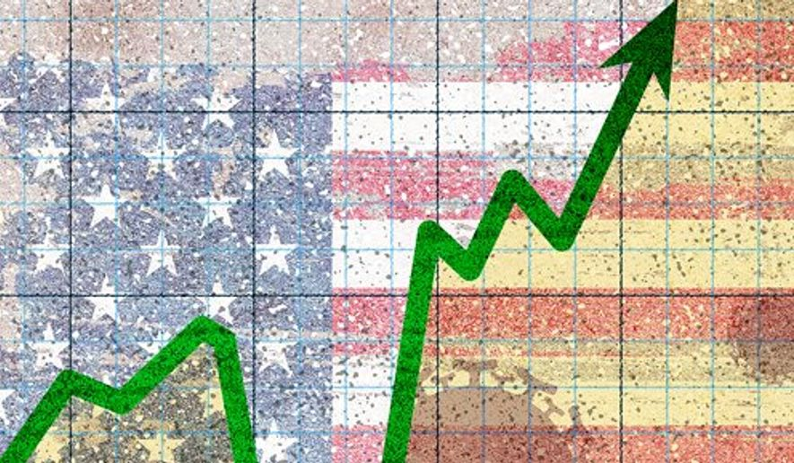 America's V-shaped Recovery Illustration by Greg Groesch/The Washington Time