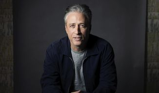 In this Nov. 7, 2014, file photo, Jon Stewart poses for a portrait in New York. (Photo by Victoria Will/Invision/AP, File)