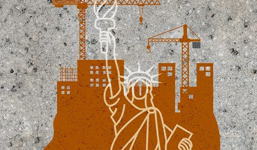 Rebuilding Illustration by Greg Groesch/The Washington Times