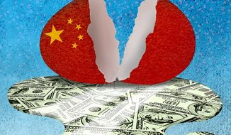 China Shell Game Illustration by Greg Groesch/The Washington Times