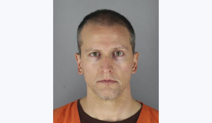 This May 31, 2020, file photo provided by the Hennepin County Sheriff shows former Minneapolis police officer Derek Chauvin, who was arrested Friday, May 29, in the May 25 death of George Floyd. A judge on Monday, June 8 set $1 million bail for Chauvin, charged with second-degree murder in Floyd's death. (Hennepin County Sheriff via AP, File)
