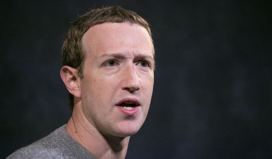 In this Oct. 25, 2019, file photo, Facebook CEO Mark Zuckerberg speaks at the Paley Center in New York.  On Wednesday, July 1, 2020, more than 500 companies kicked off an advertising boycott intended to pressure Facebook into taking a stronger stand against hate speech. Zuckerberg has agreed to meet with its organizers early the following week. (AP Photo/Mark Lennihan, File)