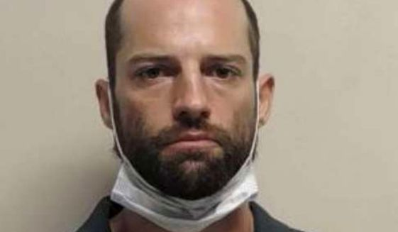 Jesse Taggart, 33, faces charges of attempted aggravated murder, aggravated assault, and others in connection to a shooting at a Black Lives Matter protest on June 29, 2020. The Provo shooting sent one man to the Utah Valley Hospital with non-life threatening injuries. (Image: Utah County Jail)
